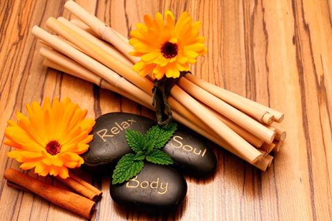 Bete de bambus pentru masaj anticelulitic